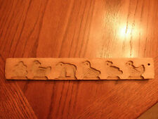 Vintage Wooden Chocolate Mold
