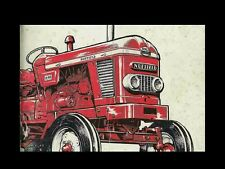 Nuffield 3/45 4/65 4/25 Operations Manual 100pg for Gas & Diesel Tractor Service