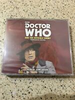 Doctor Who And The Invisible Enemy - Terrance Dicks - John Leeson. NEW!