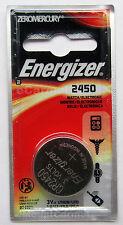 Energizer 3V ECR2450 2450  CR2450 Lithium Coin Battery - 1pc Blister Pack