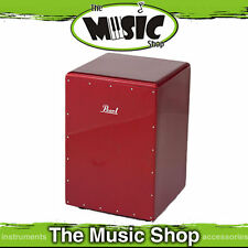 New Pearl Boom Box Cajon Drum - Red Sparkle - PCJ-633BB-630