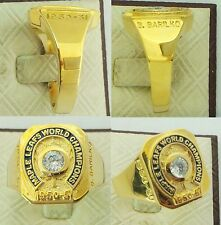 1951 Toronto Maple Leafs Stanley Cup Championship Replica Ring - Bill Barilko
