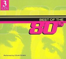 Countdown : Best of the 80s New Sealed 3xCD Set   Party Pop