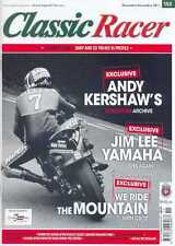 CLASSIC RACER No.152 N/Dec 2011(NEW COPY) *Post included to UK/Europe/USA/Canada