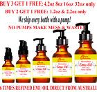 *100% PURE ORGANIC EMU OIL 6X Refined From Australia 1 2 4 8 16 Oz
