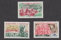 St. Pierre et Miquelon sc# 393-395 MNH OG set 1969 393-95