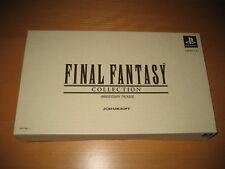 Final Fantasy IV V VI Collection Anniversary Package Squaresoft Sealed Clock