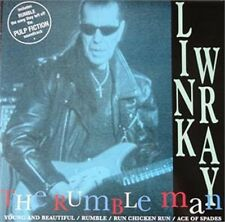 """LINK WRAY Rumble Man 7"""" Vinyl EP Picture Sleeve - Ace of Spades, Run Chicken Run"""