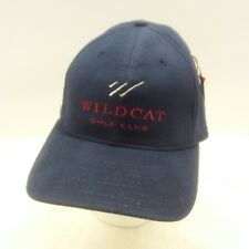 *Wildcat Golf Club - New Golf Hat - Navy Fitted Large - Made In Usa