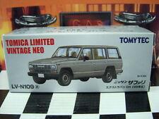 TOMICA LV-N109 NISSAN SAFARI EXTRA VAN DX NEW IN BOX LIMITED VINTAGE NEO SERIES