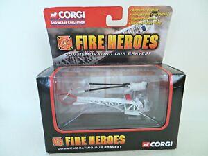 CORGI CS90045 'BELL-47 HELICOPTER LA CITY FIRE DEPT'. MIB/BOXED. FIRE HEROS.