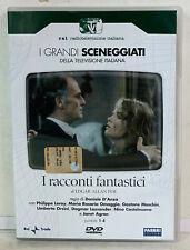 02428 DVD I Grandi Sceneggiati RAI - I racconti fantastici (2 Dischi) Pt 1-4