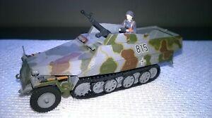 Esci 1:72 gebaut/gesupert Sd.Kfz 251 & Besatzung aus Sammlung