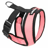 Gooby Fully adjustable Choke Free Comfort X Soft Harness Pink Size Small - Large