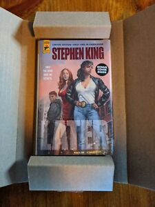 Later By Stephen King Limited Hardcover Edition, Hard Case Crime, Titan Books