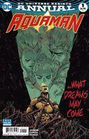 DC Aquaman Annual Universe Rebirth comic issue 1