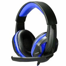 Gaming Headset Surround Sound Stereo LED Headphones Mic for PC Laptop PS4 Xbox