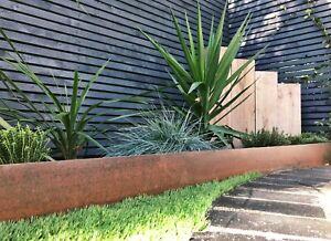 Corten Steel Garden Corner Edging/Landscaping/Garden Design/Lawn Edges