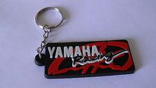 Portachiavi Yamaha R1 R6 TMAX YZF X-CITY FZ1 FAZER nuovo (nero rett.logo rosso)