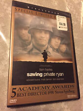 Saving Private Ryan Brand New Dvd Tom Hanks Matt Damon Special Limited Edition!