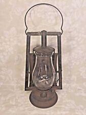 Vintage Dietz Buckeye Dash Lantern Reflector Glass Broken