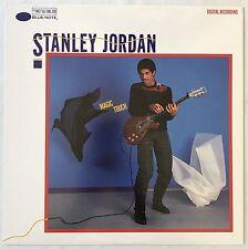 Stanley Jordan Magic Touch Jazz LP Blue Note BT85101 '85 Eleanor Rigby, Di Meola