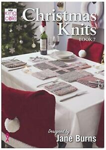 King Cole Pattern Book - Christmas Knits Book 7