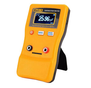 V2 Auto Range Digital Capacitor Capacitance Tester Meter 0.01pF to 470mF M6013