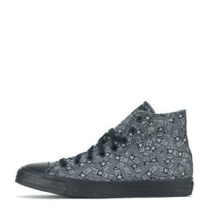 Converse Chuck Taylor All Star Hi Men's Trainers Shoes Black