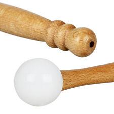 Rubber Mallet Stick Beater for Crystal Singing Bowl Wooden Handle V9B1