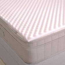 Luxury Factory Seconds Back Support Egg Box Crate Foam Mattress Topper | Single