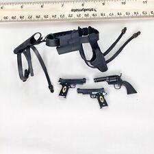 1/6 Hot Toys The Expendibles Barney Ross - Belt Holster System + Custom Pistols