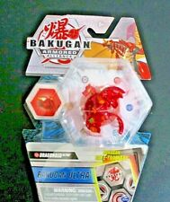 Bakugan Ultra Armored Alliance Pyrus Dragonoid Collectible Action Figure S2 red
