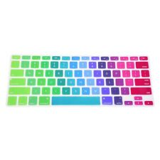 """US Colorful Silicone Keyboard Cover Skin For Apple Macbook Pro Retina 13""""-1 B0P4"""