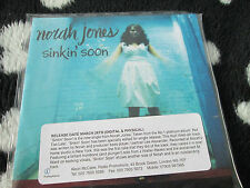 Norah Jones Sinkin' Soon Parlophone SINKIN001 CDr Promo CD Single