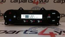 """FORD Mondeo MK3 04-07 LED Bianco & Rosso """"AUTO"""" Digital Riscaldatore Clima unità di controllo"""