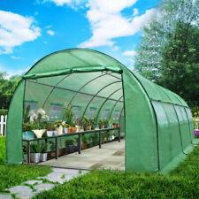 Greenfingers GH-POLY-E-60X30-GR-D-AB Greenhouse 6m X 3m - Green