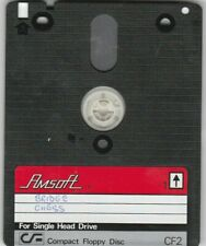 AMSOFT 3 Inch CF2 Disc & Sleeve For AMSTRAD PCW & SPECTRUM Computers (i)