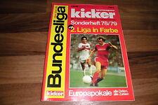 KICKER SONDERHEFT:   BUNDESLIGA  1978/1979  / alle Mannschaften in Farbe