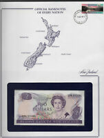 Banknotes of Every Nation New Zealand 2 Dollar 1989 UNC P-170c Prefix EPN Brash