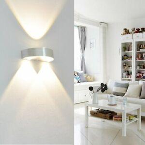 Modern 3W Wandleuchte LED Wandlampe Treppenhaus Up Down Innenleucht Wanddeko DHL