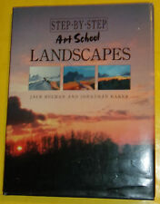 Step By Step Art School Landscapes 1993 Great How To Art Book! Nice See!