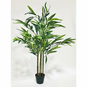 Large 140CM Tall Artificial Bamboo Plant Outdoor Indoor Green Potted Home Office