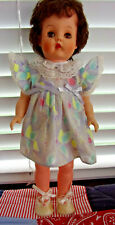 Vintage Vinyl / Plastic Child doll 1960s, 15-1/2 in. (May be Deluxe Reading)