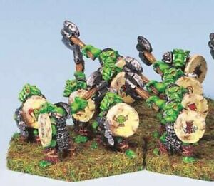 15mm Ral Partha ORC SAVAGES (10) Demonworld Blighthaven UNPAINTED 4038A R