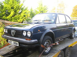 Alfasud/Sprint, 1972-89, Breaking, All, Parts/Spares,Available/Boxer,Engine,Alfa