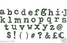 Sizzix Bigz XL die Tim Holtz Typo Lower case alphabet letters 661176 for BigShot