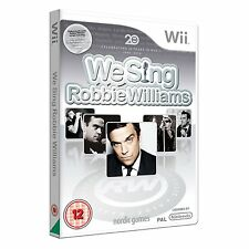WE Sing Robbie Williams GIOCO-UE Versione PAL Nintendo Wii Karoke