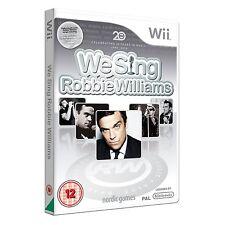 We Sing Robbie Williams GAME - Versión EU PAL NINTENDO WII KARAOKE