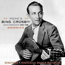 Bing Crosby - Radio Broadcasts 1938-1946 [New CD]
